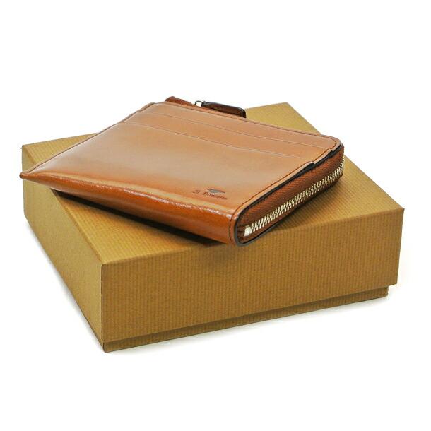 イルブセット 財布 折財布 IL BUSSETTO 7815161 BROWN L字型詳細c画像