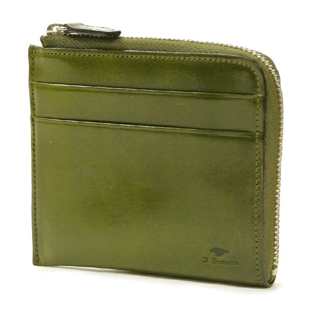 イルブセット 財布 折財布 IL BUSSETTO 7815163 GREEN L字型