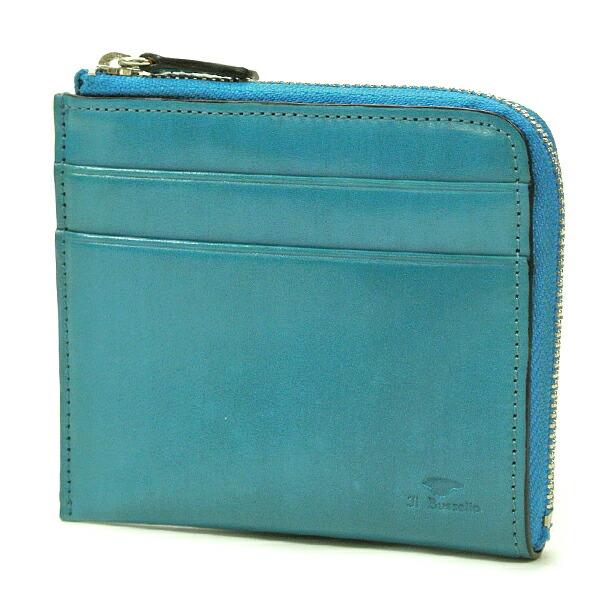 イルブセット 財布 折財布 IL BUSSETTO 7815166 L.BLUE L字型