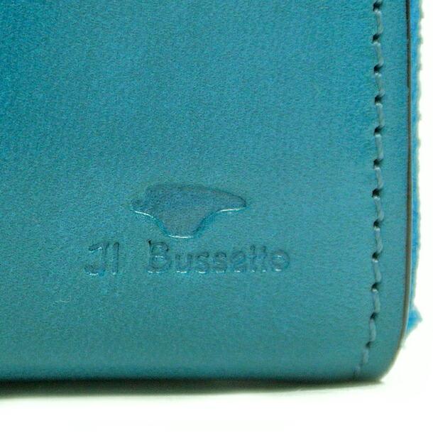 イルブセット 財布 折財布 IL BUSSETTO 7815166 L.BLUE L字型詳細a画像
