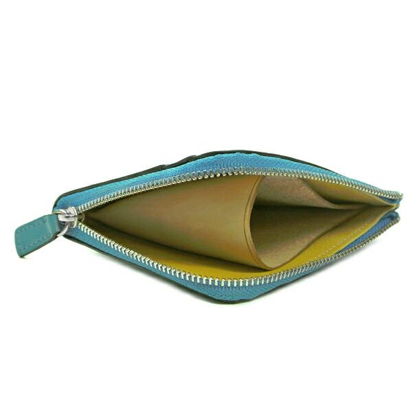 イルブセット 財布 折財布 IL BUSSETTO 7815166 L.BLUE L字型詳細b画像