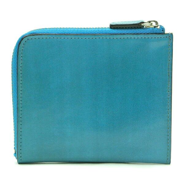 イルブセット 財布 折財布 IL BUSSETTO 7815166 L.BLUE L字型詳細d画像