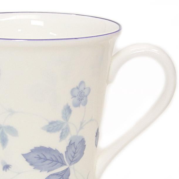 ウェッジウッド マグカップ WEDGWOOD ストロベリーブルー ビーカー デルフィー詳細a画像