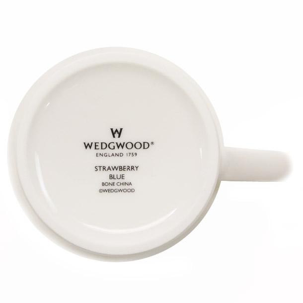ウェッジウッド マグカップ WEDGWOOD ストロベリーブルー ビーカー デルフィー詳細b画像