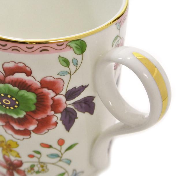 ウェッジウッド マグカップ WEDGWOOD アーカイブ コレクション ピンク クリサンセマム詳細a画像