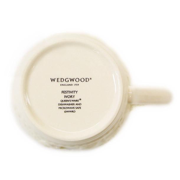 ウェッジウッド マグカップ WEDGWOOD フェスティビティ アイボリー詳細b画像