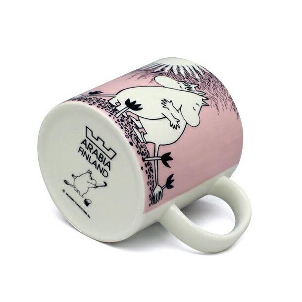 アラビア ムーミン ピンクラブ マグカップ 300ml ARABIA 5817詳細b画像