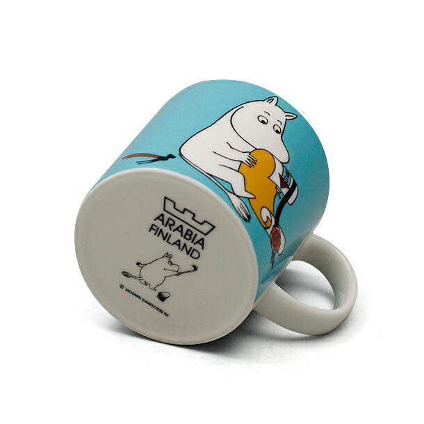 アラビア ムーミン ムーミン (新デザイン) マグカップ 300ml ARABIA 18740詳細b画像