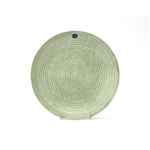 アラビア 24h Avec(アベック) 【復刻盤】 パスタプレート 24cm グリーン ARABIA 8315