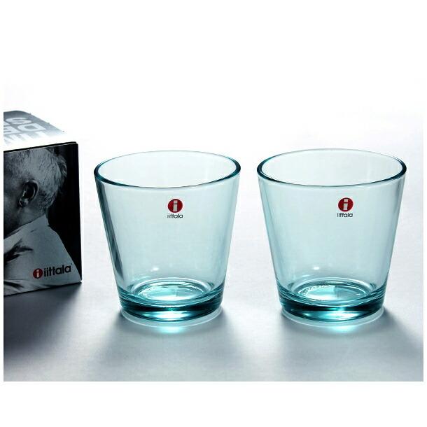 イッタラ カルティオ グラス タンブラー ペア 210ml ウォーターグリーン IITTALA 951070