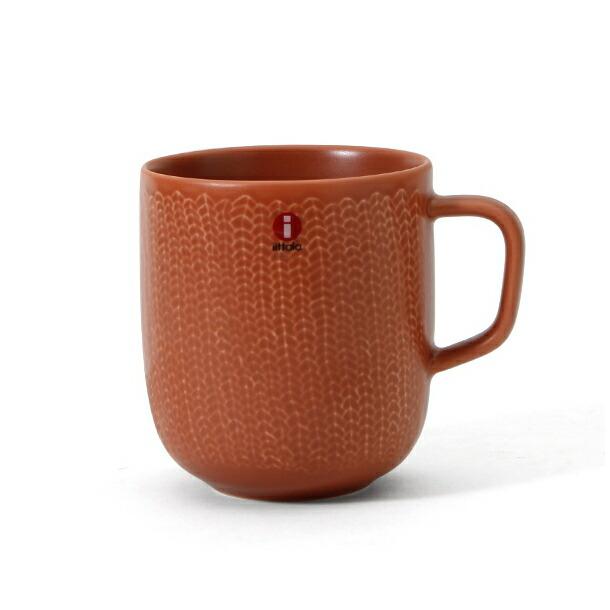 イッタラ サルヤトン マグカップ 300ml レッティ(レッドクレイ) IITTALA 18618