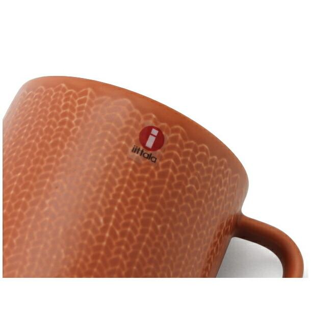 イッタラ サルヤトン マグカップ 300ml レッティ(レッドクレイ) IITTALA 18618詳細a画像