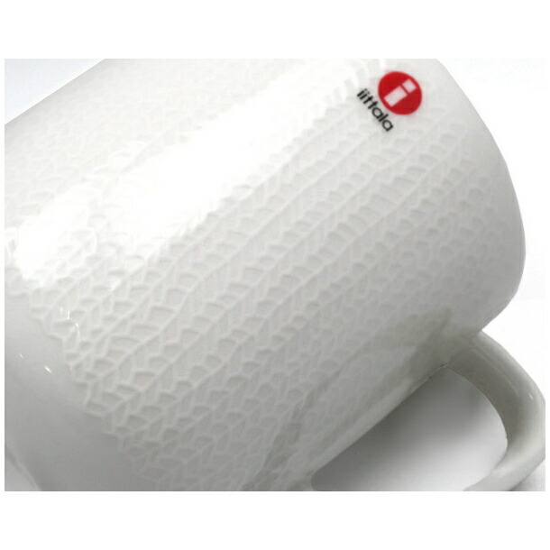 イッタラ サルヤトン マグカップ 360ml レッティホワイト IITTALA 18623詳細a画像