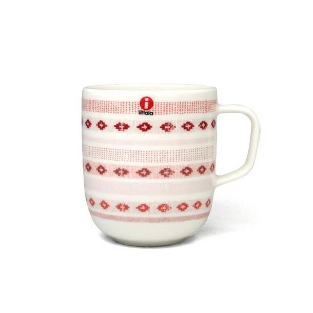 イッタラ サルヤトン マグカップ 360ml ティッキレッド IITTALA 18624
