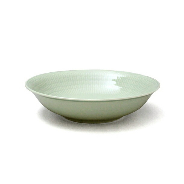ロールストランド スウェディッシュグレース ディーププレート (深皿) 19cm メドウグリーン RORSTRAND 204
