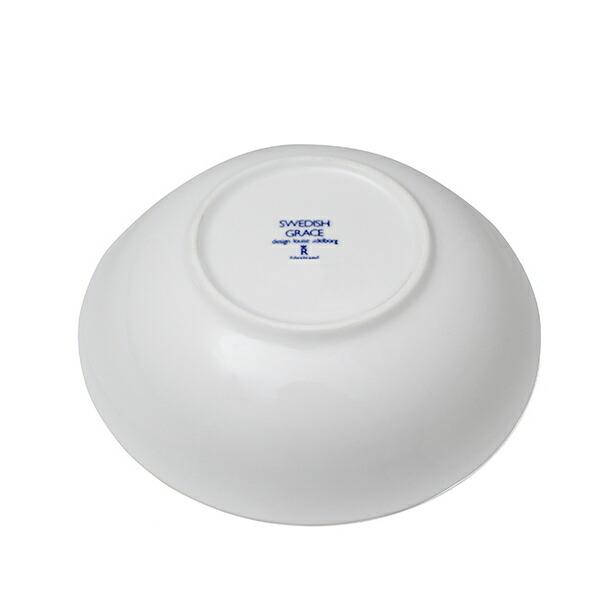 ロールストランド スウェディッシュグレース ディーププレート (深皿) 19cm スノーホワイト RORSTRAND 104詳細b画像