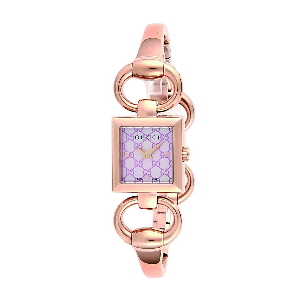 グッチ 時計 レディス時計 トルナヴォーニ ピンクシェル YA120520 GUCCI