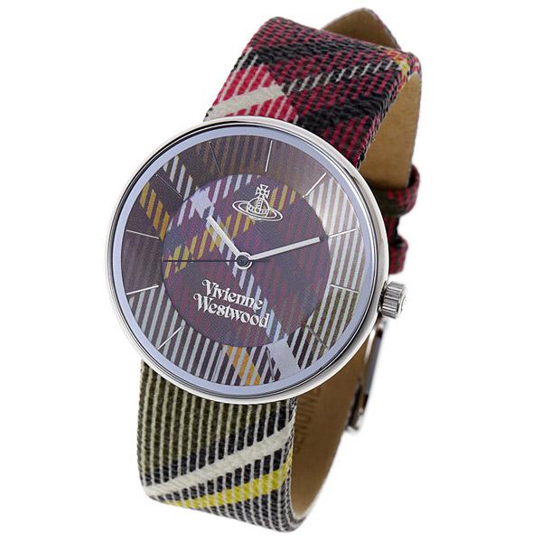 ヴィヴィアン ウエストウッド ユニセックス時計 VIVIENNE WESTWOOD VV020 BR Tartan