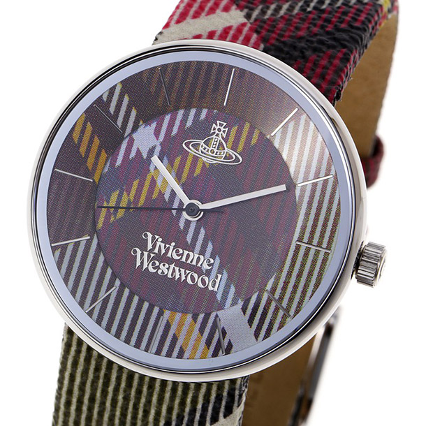 ヴィヴィアン ウエストウッド ユニセックス時計 VIVIENNE WESTWOOD VV020 BR Tartan詳細a