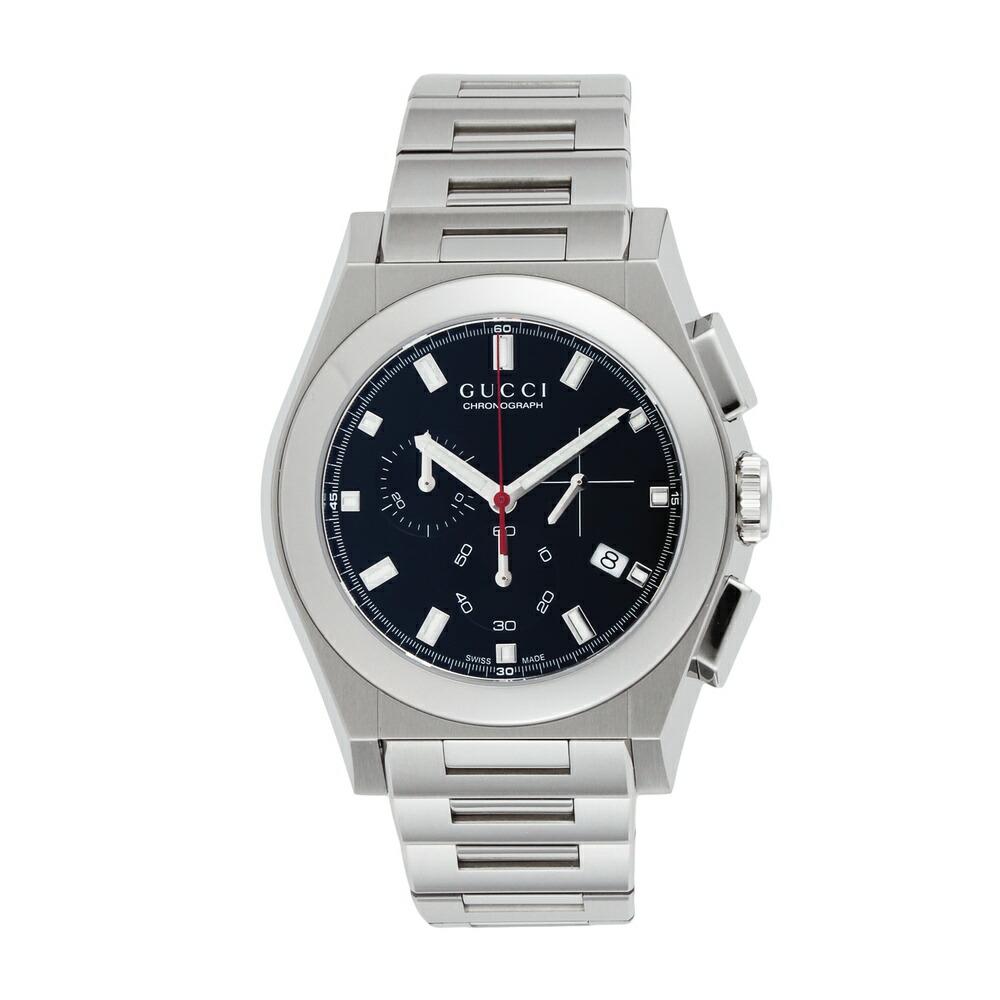 グッチ 時計 メンズ時計 パンテオン ブラック YA115235 GUCCI