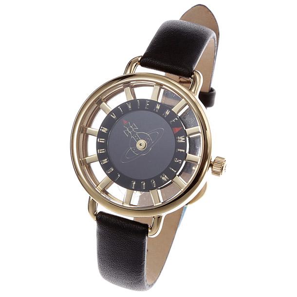 ヴィヴィアン ウエストウッド レディス時計 VIVIENNE WESTWOOD VV055 BKBK Tate