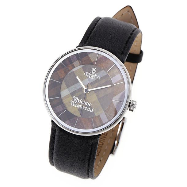 ヴィヴィアン ウエストウッド ユニセックス時計 VIVIENNE WESTWOOD VV020 BK Tartan