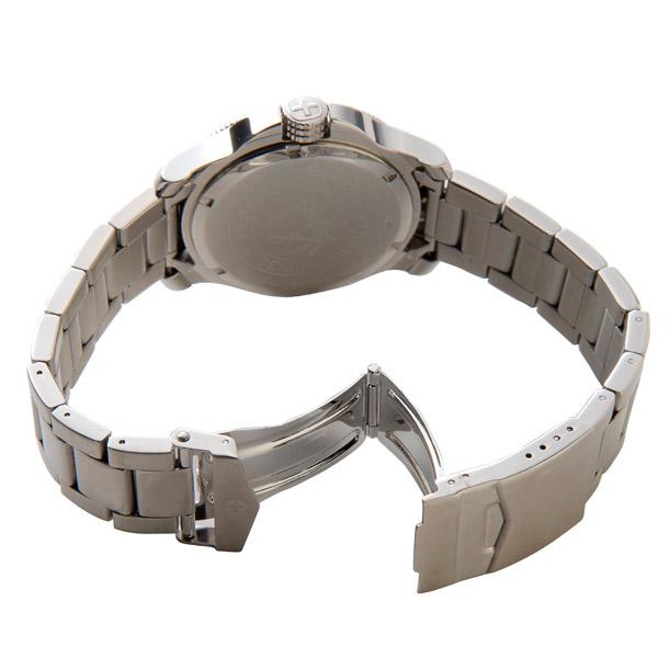 ウェンガー メンズ時計 WENGER WEN72343 バタリオン ORG(M) ブラック × シルバー詳細b