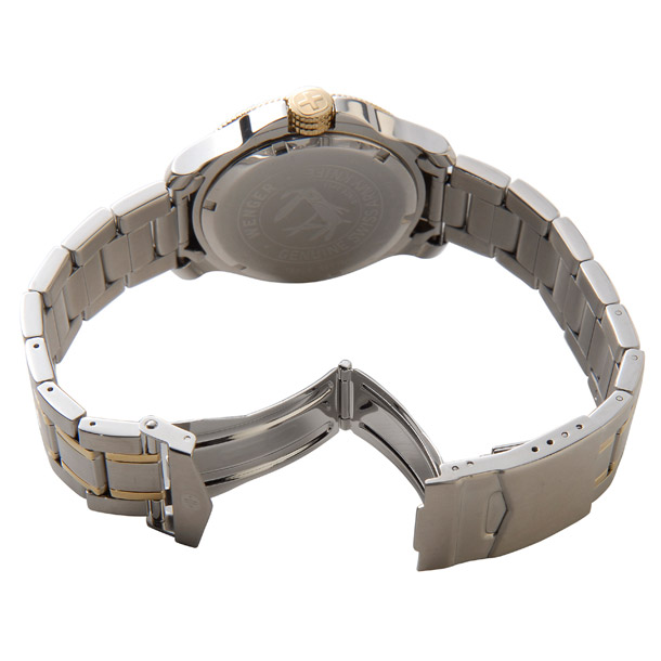 ウェンガー メンズ時計 WENGER WEN72346 バタリオン BLンビ(M) ブルー × シルバー詳細b