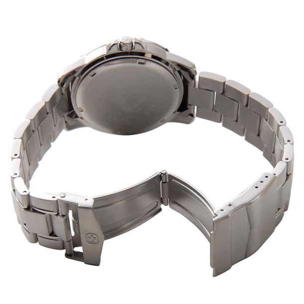 ウェンガー メンズ時計 WENGER WEN72617 マウンテイナー SS WHT ホワイト × シルバー詳細b