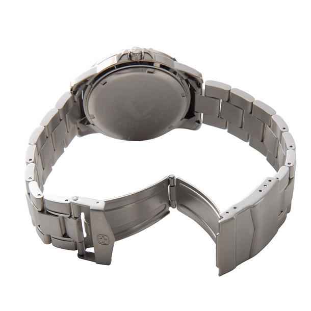 ウェンガー メンズ時計 WENGER WEN72618 マウンテイナー SS BLUE ブルー × シルバー詳細b