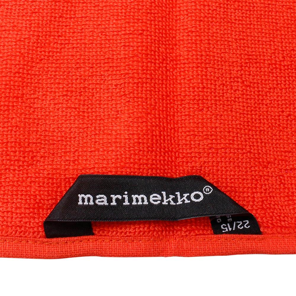 マリメッコ marimekko バスタオル 63630-330 unikko オレンジ/ピンク