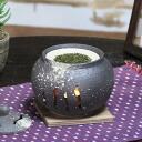Shin raku pottery incense burners! Ideal for interior! Pottery tea incense / aroma pot pottery / or kimono / Japanese / tea / and while big shine / gift