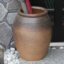 Shin Raku kiln skin 1000-umbrella stand (pot)! The Interior of the door! Pottery / Shigaraki ware or freshly pottery umbrella stand / Japanese style umbrella stand / pottery / umbrella set up, and pot / vase / while when / umbrella-holder, Casa Tote new