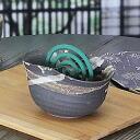 Summer events! Shin raku pottery incense! Pottery mosquito spear instrument! Interior also perfect / incense holder instrument / pottery / mosquito / pottery / Shigaraki / coils / 蚊遣 instrument