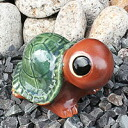 Shigaraki No. 6 grilled Bok turtle (fire) longevity and luck blessings and! Pottery crock / lucky charm / / turtle ornaments and kimono and while big / garden / figurines /