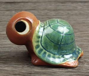 亀おきもの 陶器かめ 信楽焼きカメ置物