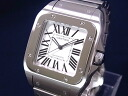 100 Cartier CARTIER W200737G Santos LM SS silver clockface self-winding watches