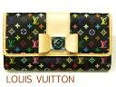 路易 · 威登 Louis Vuitton M60278 多色 (黑色 x 手榴彈) 莎拉牛羚的錢包