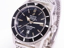 BREITLING Breitling A17320 superocean heritage 46 SS black dial automatic movement