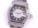 Cartier CARTIER roadster LM dark gray x silver clockface self-winding watch
