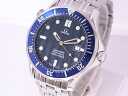Beauty products Omega 2541.80 OMEGA Seamaster Pro men's SS Navy dial quartz