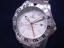 2538.20 OMEGA omega Cima star GMT chronometer SS white clockface self-winding watches