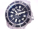 Breitling A17364 BREITLING superocean 2 42 mm SS black dial automatic movement