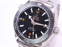 Omega-OMEGA 232.30.46.21.01.003 Seamaster Planet Ocean SS black dial automatic