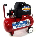 KNO オイルレスコンプレッサー air compressor 2 HP oil-free KCL-2036 36L
