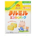 Repack a Morinaga Milk Industry till mil eco-pack taking its ease; is *2 bag of 400 g (dry milk) from 用 nine months