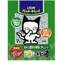 The sand (sand taking the smell) 7L litter cat sand cat sand which takes the smell with lion pet beauty tea