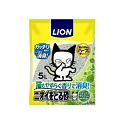 Lion pet Kira take the odor sand (sand take a smell) relaxing green fragrance 5 l
