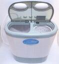 Aluminum 2 tank type compact washing machine Harumi Harumi AST-01
