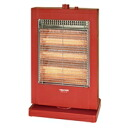 TEKNOS technos straight tube type halogen heater red PH-1211 (R)